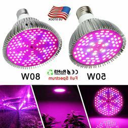 Morsen LED Grow Bulb Full Spectrum lamps Indoor Garden Green