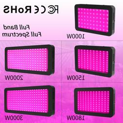 LED Grow Light 3000W 2000W 1800W 1500W 1000W Full Spectrum F