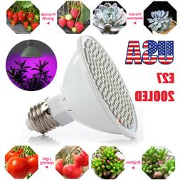 LED Grow Light 200LED Growing Lamp for Indoor Plants Hydropo