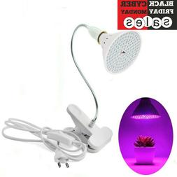 LED Grow Light 200LED UV IR Growing Lamp for Indoor Plants H