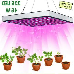 LED Grow Light 225 LED UV IR Growing Lamp Indoor Plants Hydr