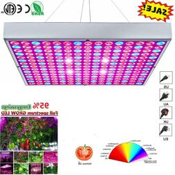 LED Grow Light 225 LED UV&IR Growing Lamp Indoor Plants Hydr
