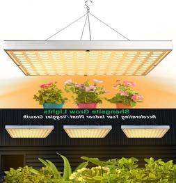 LED Grow Light 75W Sunlike UV IR Growing Lamp for Indoor Pla