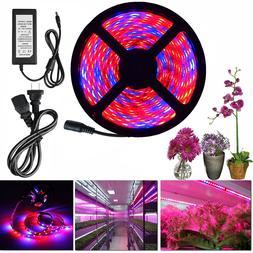 LED Grow Light Bar Strips Light Full Spectrum Hydro Plant Aq