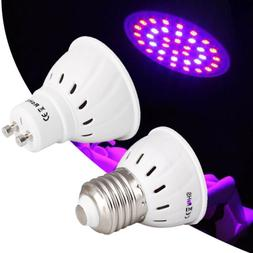 LED Grow Light Bulbs GU10 E27 8W 10W SMD 110V 220V Lamps For