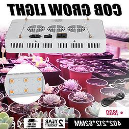 LED Grow Light COB X6 1800W Plant Grow Full Spectrum Germina