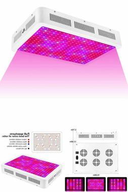 MORSEN LED Grow Light Full Spectrum Dimmable Growing Light F
