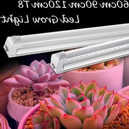 Led Grow Light Full Spectrum T8 Integrated 600-1200MM Tube L