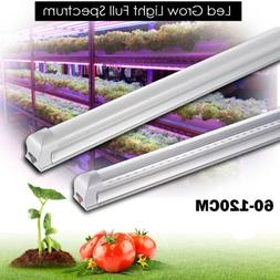 Led Grow Light Full Spectrum T8 Integrated 600-1200MM Tube L
