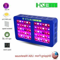 MEIZHI 300W LED Grow Light Full Spectrum Hydroponic Indoor P