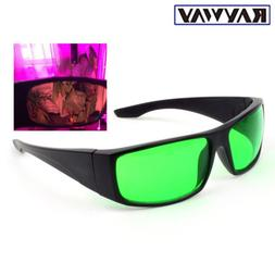 LED Grow Light Glasses Goggles Color Correction Safety Glass