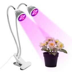 Morsen LED Grow Light Plant Growing Lamp Lights with Clip fo
