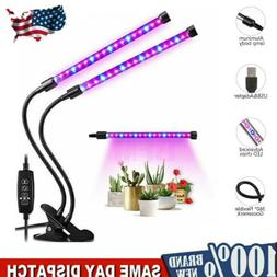 LED Grow Light Grow Lamp Bulb for Indoor Plants 45W Super Br