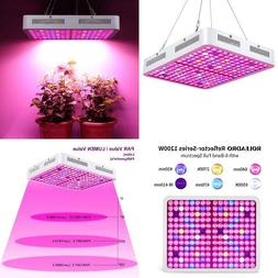 Led Grow Light Reflector Series 1200W Plant Light Dual Chip