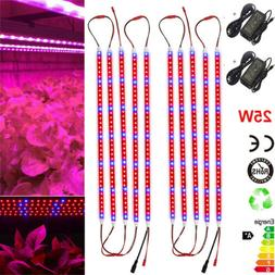 LED Grow Light Strips lamp Red+Blue 25W  for Greenhouse Hydr