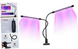 LED Grow Light, TaoTronics 18W Dual Head Grow Light, 36 LED
