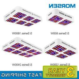 Morsen LED Grow Lights S-600w-2400w Full Spectrum Two-Switch