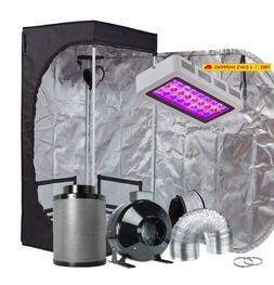 Topogrow Led Grow Tent Complete Kit Led 300W Led Grow Light
