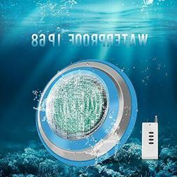 Roleadro Led Pool Lights 16Ft Waterproof IP68 47W RGB multi
