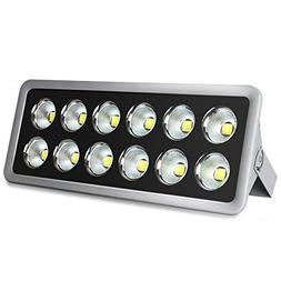 LED Flood Light, Morsen 600W Super Bright Outdoor LED Floodl