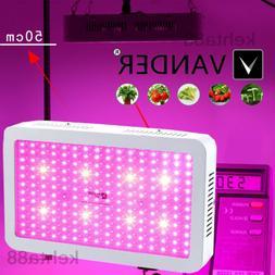 VANDER LIFE 2000W LED Grow Light Full Spectrum Hydroponics V