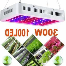 LOT 300W LED Grow Light Full Spectrum Veg Flower Indoor Plan