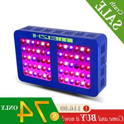 MEIZHI 300W LED Grow Light Full Spectrum Hydroponics Indoor
