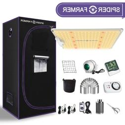 MEIZHI Mr 480W LED Grow Light Full Spectrum Hydroponics Veg