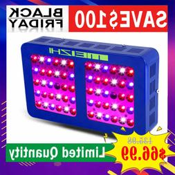 MEIZHI 300W LED Grow Light Full Spectrum Hydroponic Indoor P