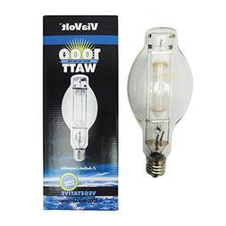 ViaVolt 1000W Metal Halide Replacement Grow Hid Light Bulb