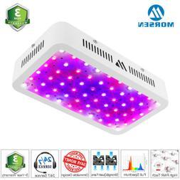 Morsen LED Grow Light Lamp 600W Full Spectrum Hydro greenhou