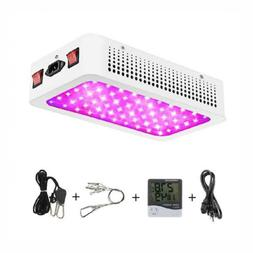 Morsen 1200W LED Plant Grow Light,with Thermometer Humidity