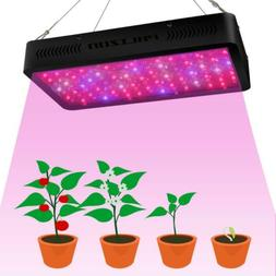 Phlizon Newest 1200W LED Plant Grow Light with Thermometer H