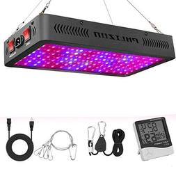Phlizon Newest 1200W LED Plant Grow Light,with Thermometer H