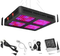 Phlizon Newest 2200W LED Plant Grow Light,with Thermometer H