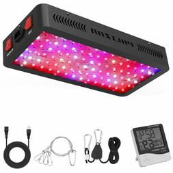 Phlizon Newest 900W LED Plant Full Spectrum Grow Light with