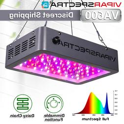 VIPARSPECTRA Dimmable 600W Full Spectrum LED Grow Light for