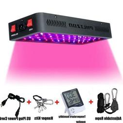 Phlizon Newest Winter 600W LED Plant Grow Light,with Thermom