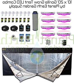 All-In-One 10x20 Gorilla Grow Tent Kit 1000w KIND LED XL1000