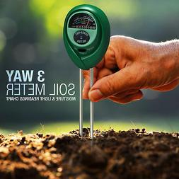 NEW PH Meter Tester Hydroponic Water Lab LEAF Soil Garden Se