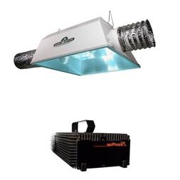 Hydrofarm Phantom Dimmable Digital Radiant 8AC Grow Light Sy