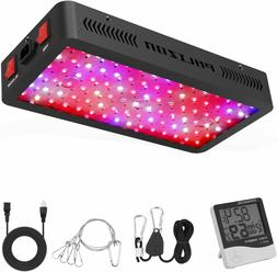 Phlizon Newest 900W LED Plant Grow Light,with Thermometer Hu