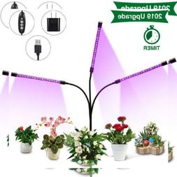 Plant Grow Light, SOLMORE Light for Indoor Plants, Auto ON &