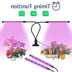Plant Grow Light, 20W 40LEDs Growing Lights Dual Head 9 Leve