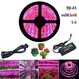 ALight House LED Plant Grow Strip Light 16.4feet Full Spectr