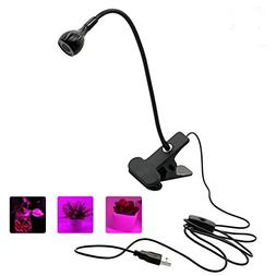 Plant Grow Lamp, Kisstaker Household LED Grow Light Flexible