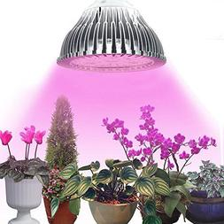 Plant Light, AUYES 7W Plant LED Grow Light E27 Growing Bulbs