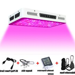 Phlizon Newest 1200W High Power Series Plant LED Grow Light,