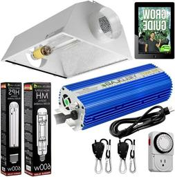 Yield Lab Pro Series 600W HPS+MH XXL Hood Double Ended Compl