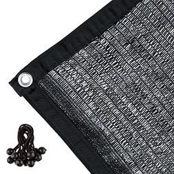 Agfabric 50% Sunblock Shade Cloth with Grommets for Garden P